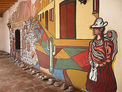 Musée Archéologique, une partie de la fresque