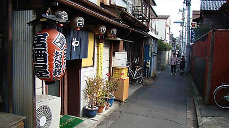 Le vieux Tokyo à Yanaka