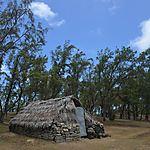 Cabane de pêcheur, Saint François, île Rodrigues