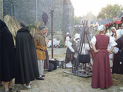 Fête médiévale à Guérande