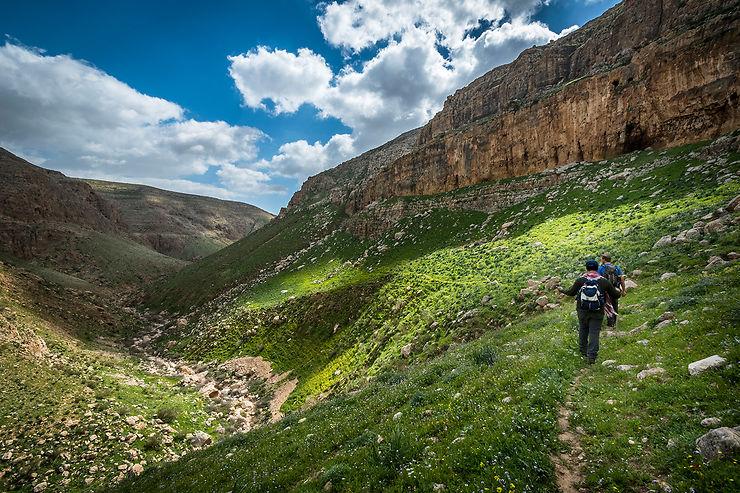 Canyon entre Naplouse et Jéricho