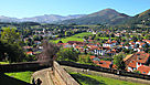 Carte pays basque et b arn plan pays basque et b arn - Biarritz to st jean pied de port transport ...