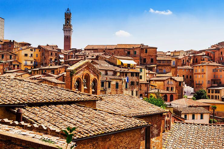 Le meilleur de la Toscane : Sienne