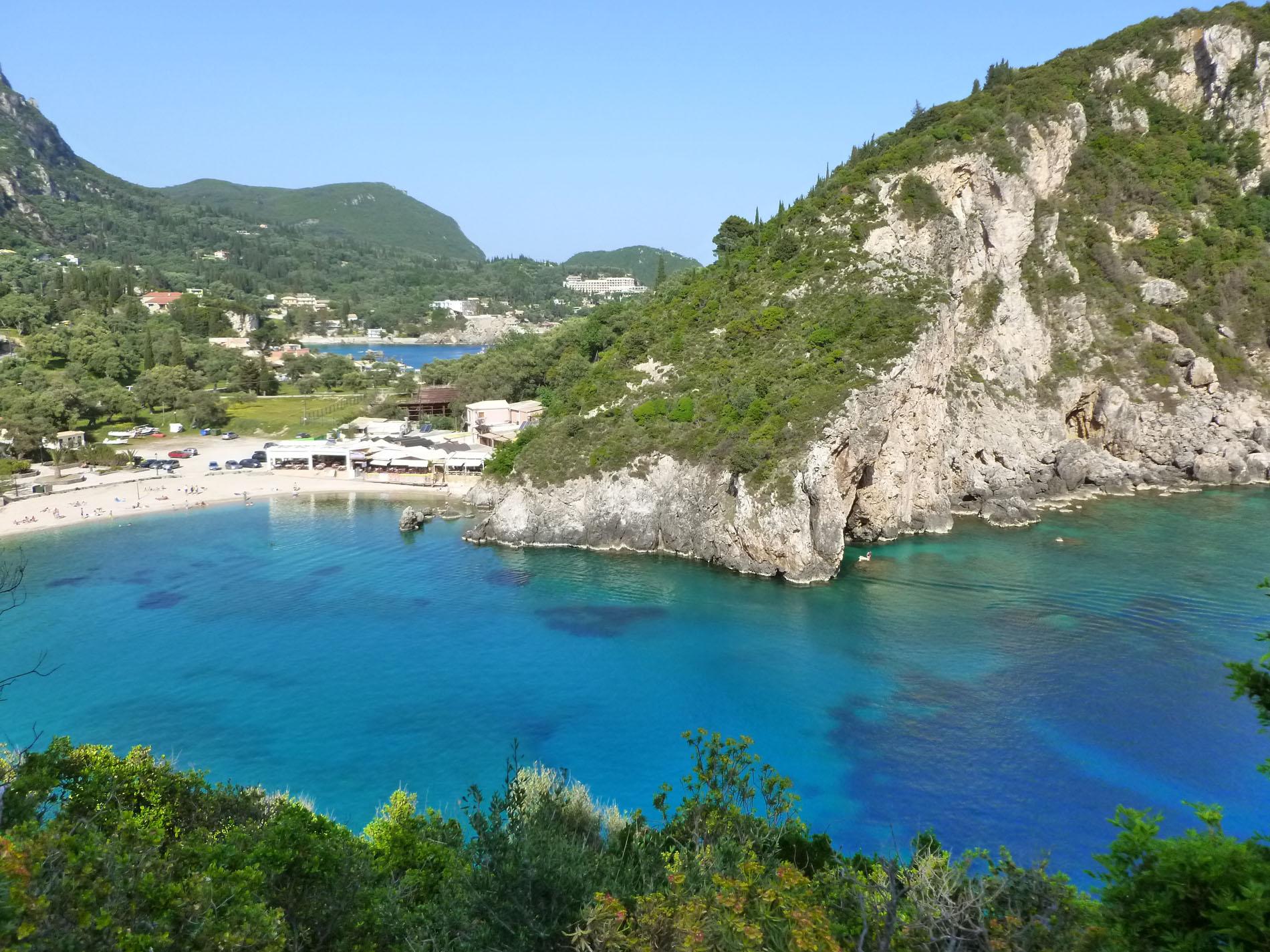 Île de Corfou (Kérkyra) - Îles grecques