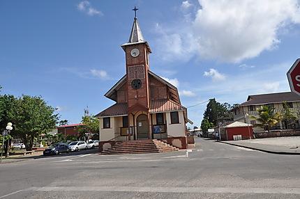 1ère église de Saint-Laurent-du-Maroni