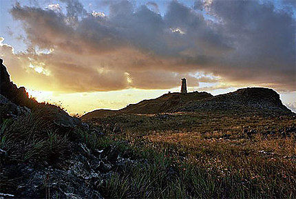 Le vieux phare de Grand Roque