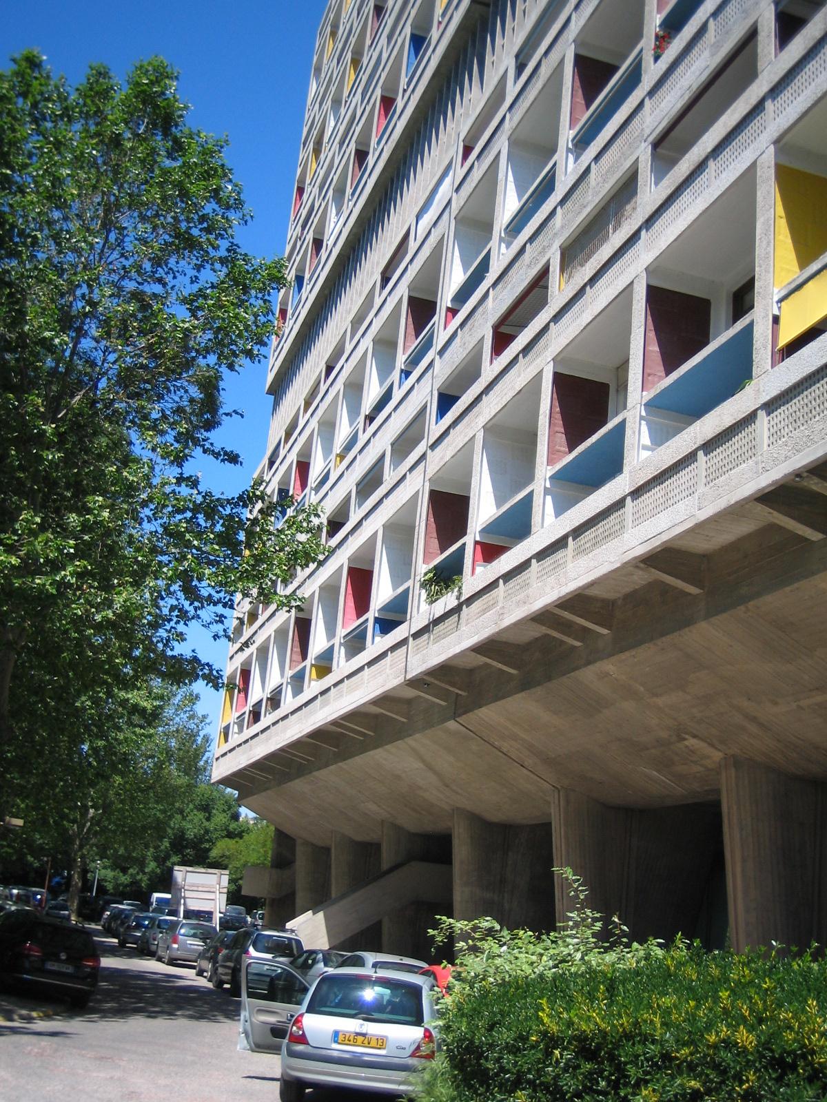 Cité radieuse de Le Corbusier - Marseille