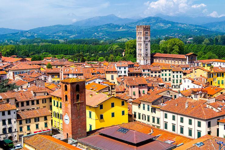 Le meilleur de la Toscane : Lucca
