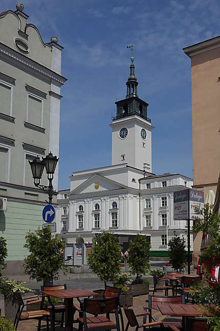 L'hôtel de ville de Kalisz