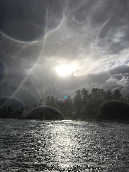 Jour de tempête à Cottesloe