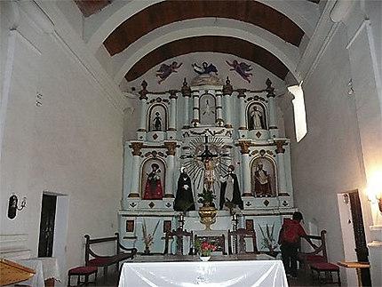 Cachi, intérieur de l'église