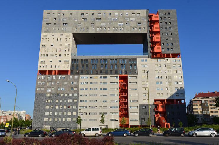 Building Mirador - Madrid, Espagne
