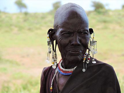 Portrait massaï