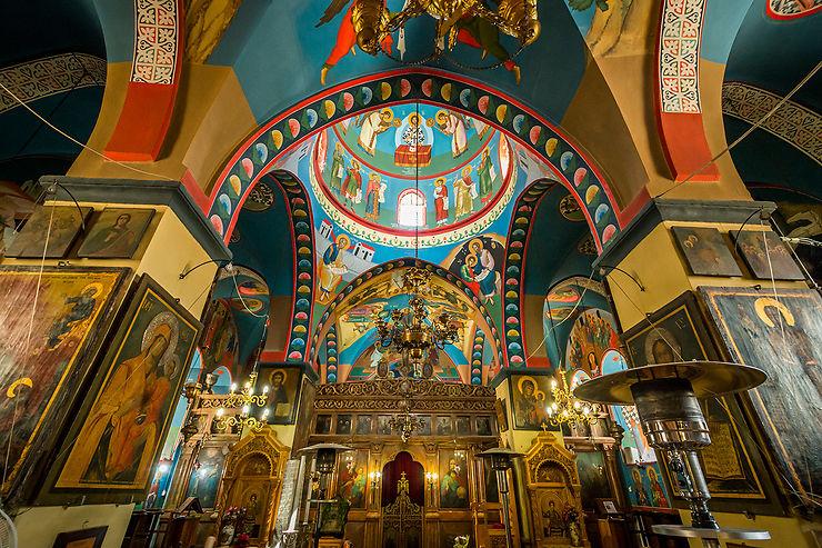 Intérieur de la Basilique catholique d'Artas