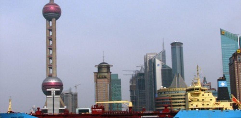 Le port de Shanghai