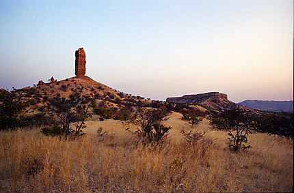 Paysage du Damaraland