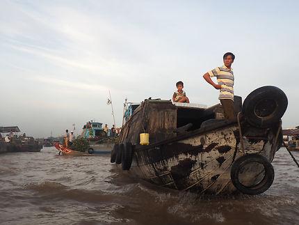 Can Tho - Marché flottant de Cai Rang