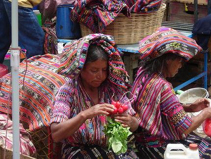 Le marché de Solola