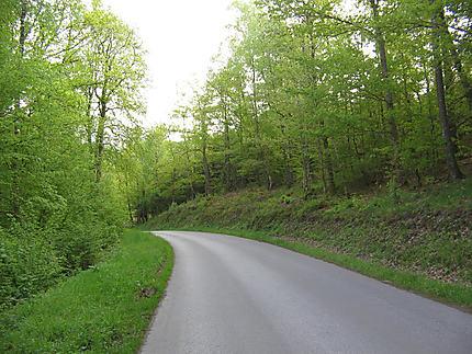 La route vers Frahan