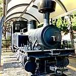 La vieille loco à vapeur