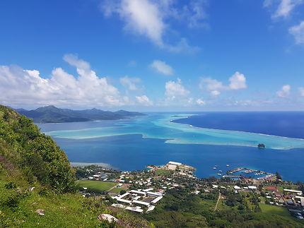 Tahaa vue depuis Raiatea