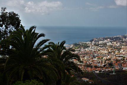 Vue sur Funchal