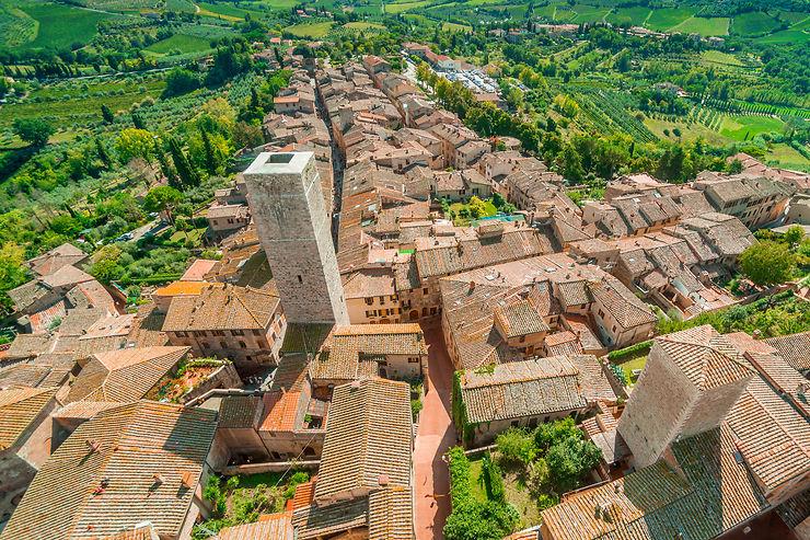 Le meilleur de la Toscane : San Gimignano