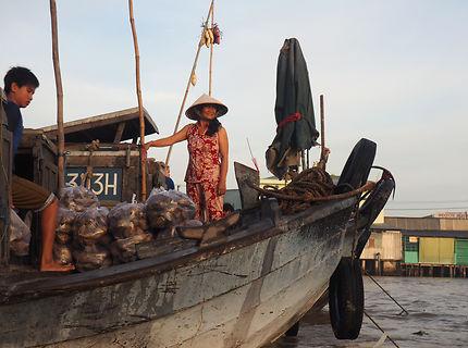 Can Tho - Marché flottant de Cài Râng