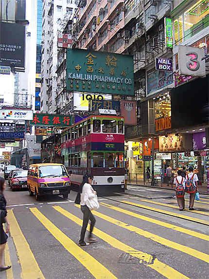 Les rues de Causeway Bay