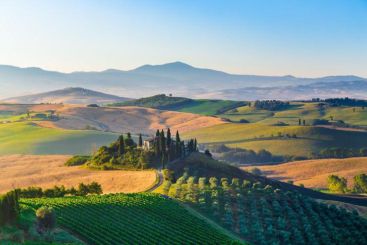 Le meilleur de la Toscane : Val d'Orcia