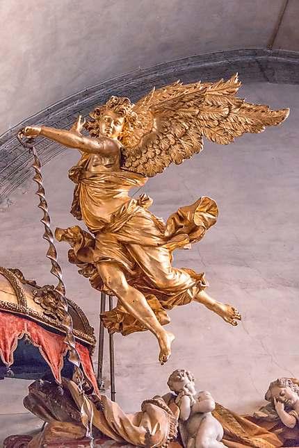 Un ange prend son envol