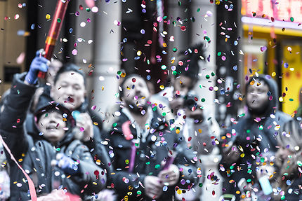 Nouvel an Chinois à Chinatown, New York