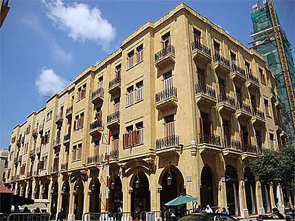 Bâtiments de la rue Maarad