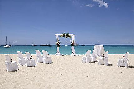 Mariage à Saint-Martin