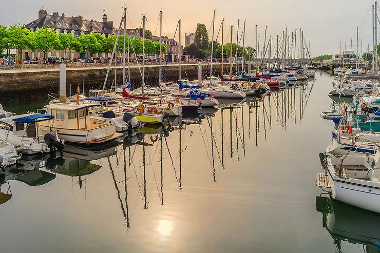 Balade dans le centre-ville de Lorient