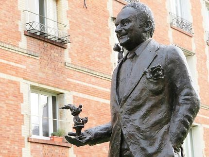 Statue de René Goscinny (Père d'Astérix)