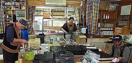 Atelier du village aborigène de la Fondation Bunun.