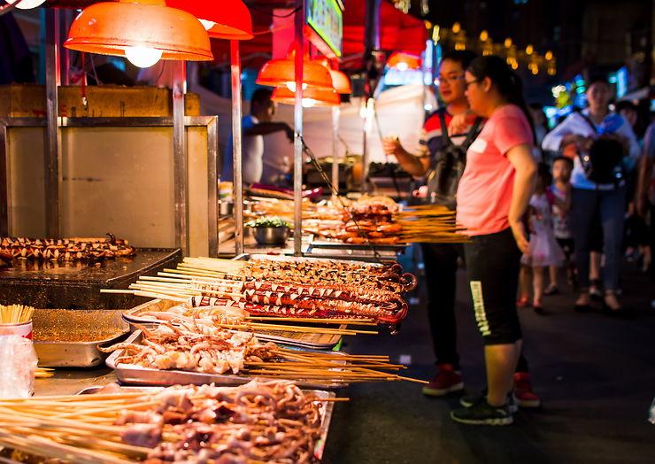 Street food en Chine : La Chine, pays des multiples cuisines de ...