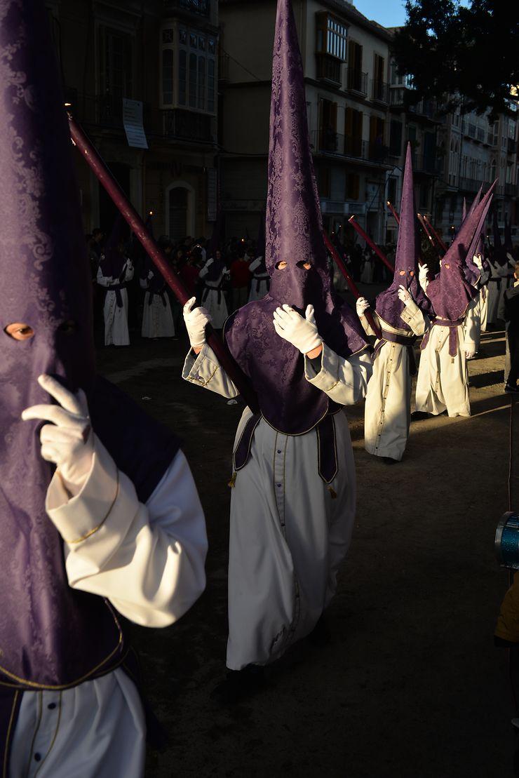 Semana Santa à Malaga, Andalousie