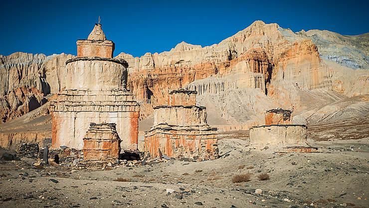 Les falaises de Dhakmar