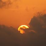 Un coucher du Soleil sur Abidjan