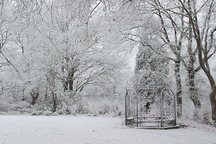 Promenade à Nantes sous la neige