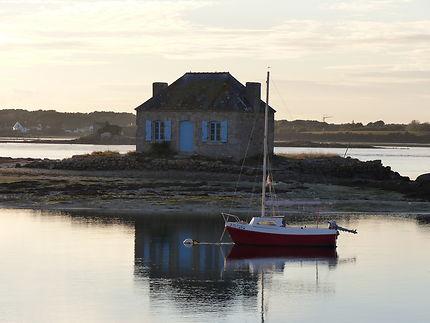 La petite maison vedette de Saint-Cado, Morbihan