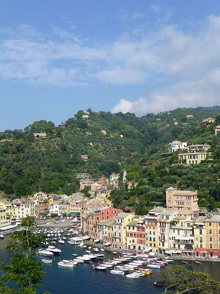 Port de poche à Portofino