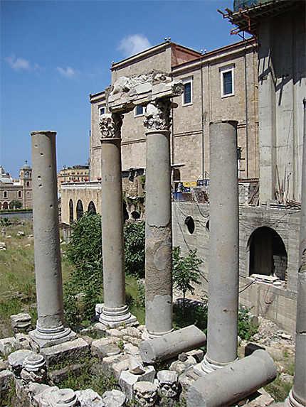 Colonnade de l'époque romaine