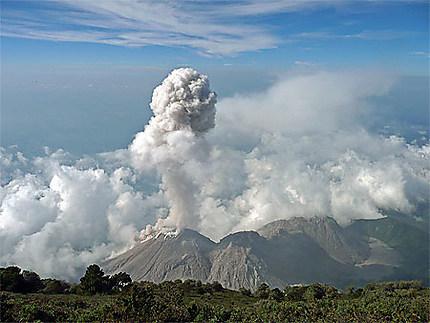2e éruption du Santiaguito