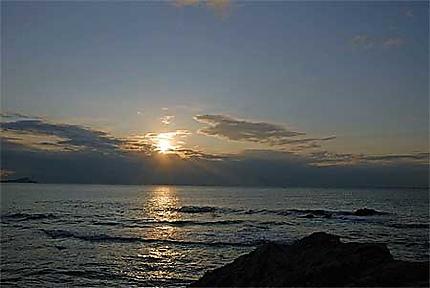 Lever de soleil calanques St aygulf
