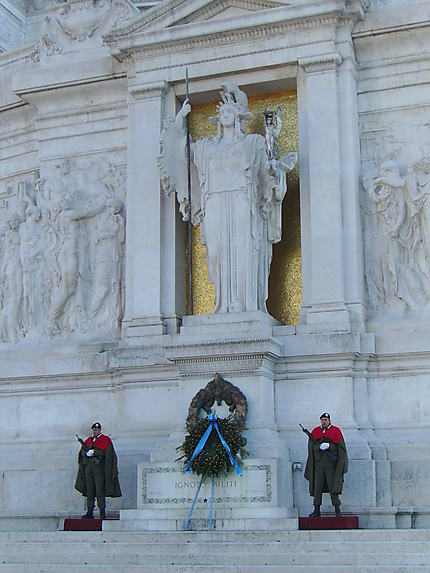 Façade Palais Emmanuel II à Rome