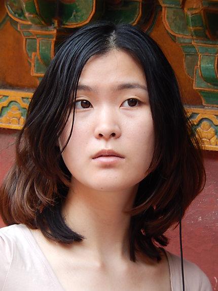 Jeune femme chinoise