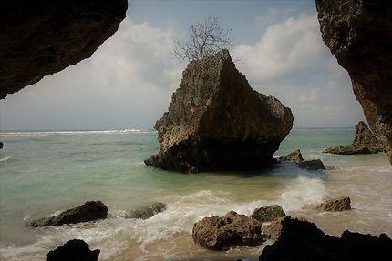 Fenêtre sur rocher